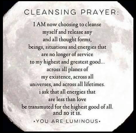 Cleansing Prayer Moon